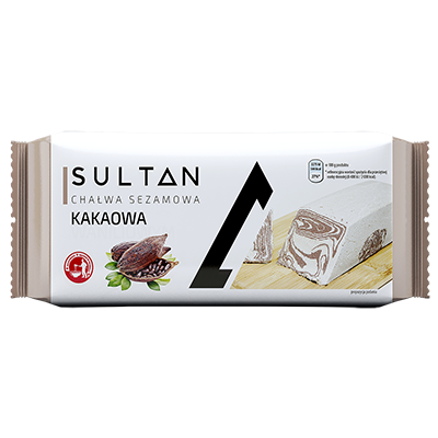 Cocoa halva - Weight 750g