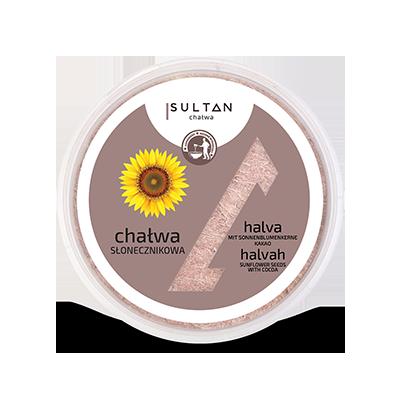 Chałwa słonecznikowo-kakaowa