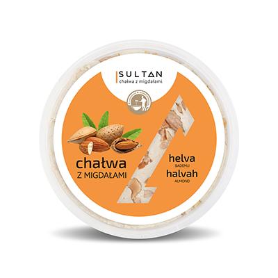 Halva with almonds - Weight 280g