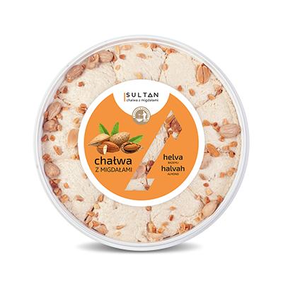 Halva with almonds - Weight 450g