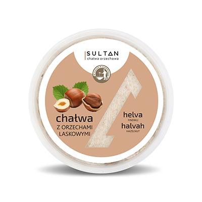 Halva with hazelnuts - Weight 280g